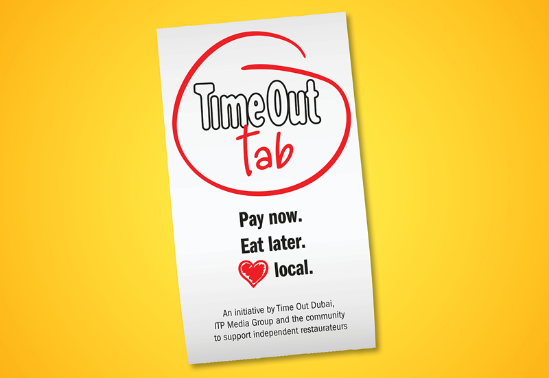 Time Out Tab allows customers to help keep much-loved local eateries in business by purchasing credit in advance