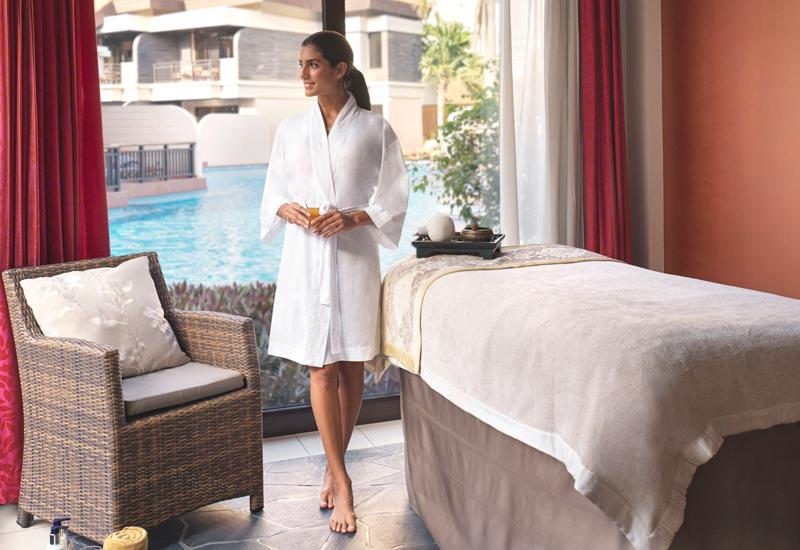The spa at Anantara The Palm Dubai