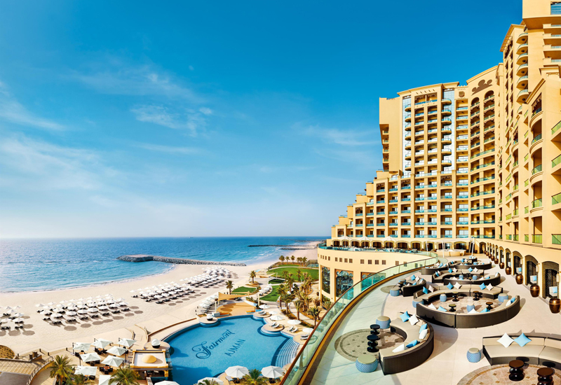 Fairmont Ajman's private beach has also reopened