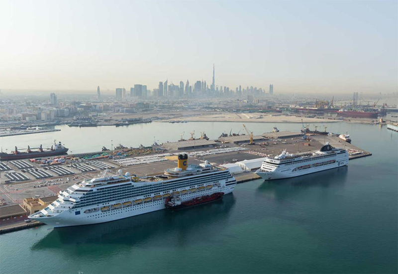 Thirteen cruise liners carrying 29,000 passengers and 10,000 crew members have been granted entry by Dubai port authorities