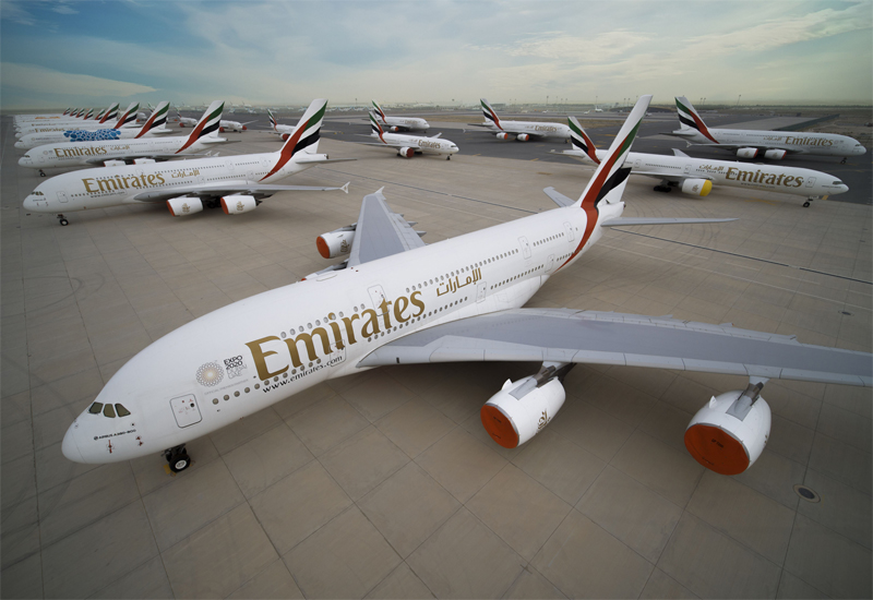 Around 75 Emirates aircraft, both passenger and freighter, are carrying people on repatriation and essential cargo