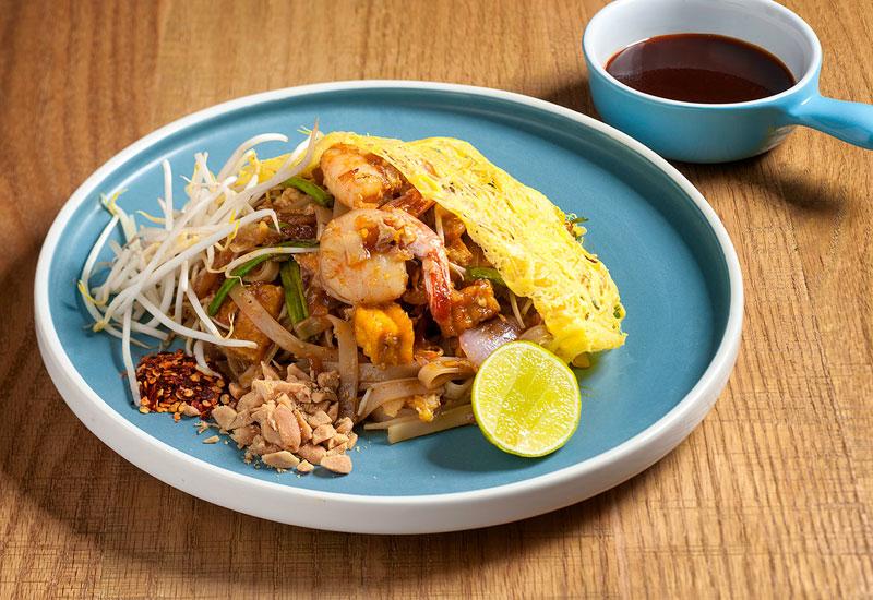 Mango Tree's pad Thai dish