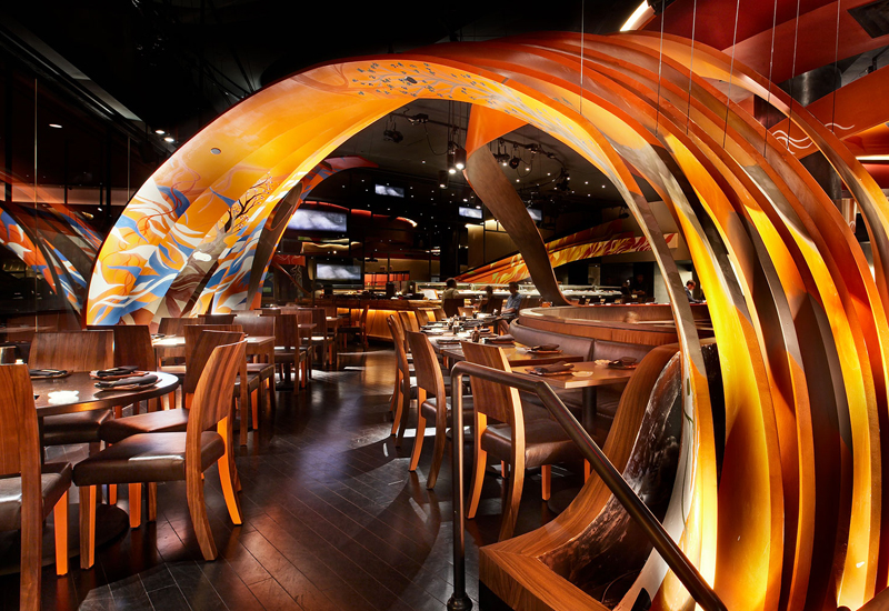 SushiSamba is planned for The Palm Tower in Dubai