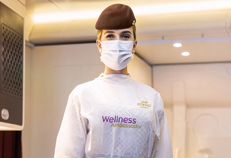 One of the carrier's Wellness Ambassadors