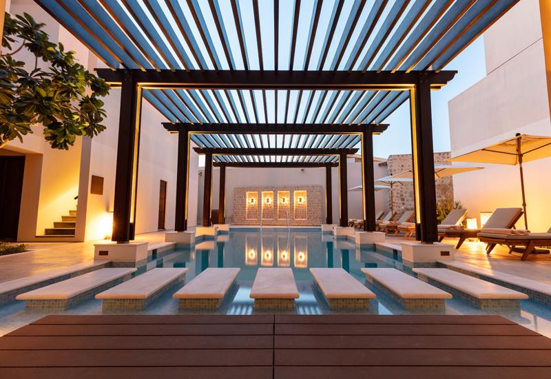 The Chedi Al Bait, Sharjah pool