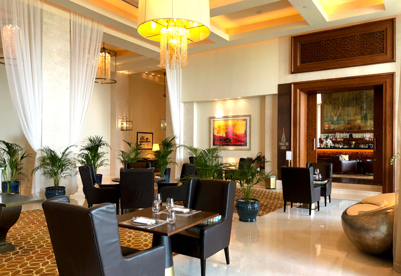 The dining concept is found at the lobby level of the resort