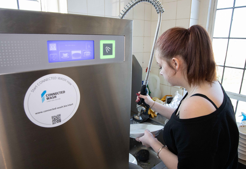 Pay Per Wash works by using Winterhalter's Connected Wash technology
