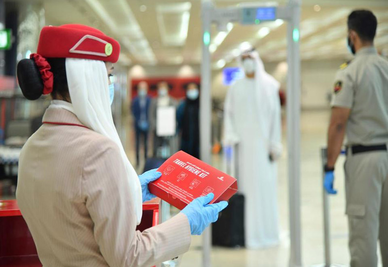 Emirates Airline laid out the guidelines on its website