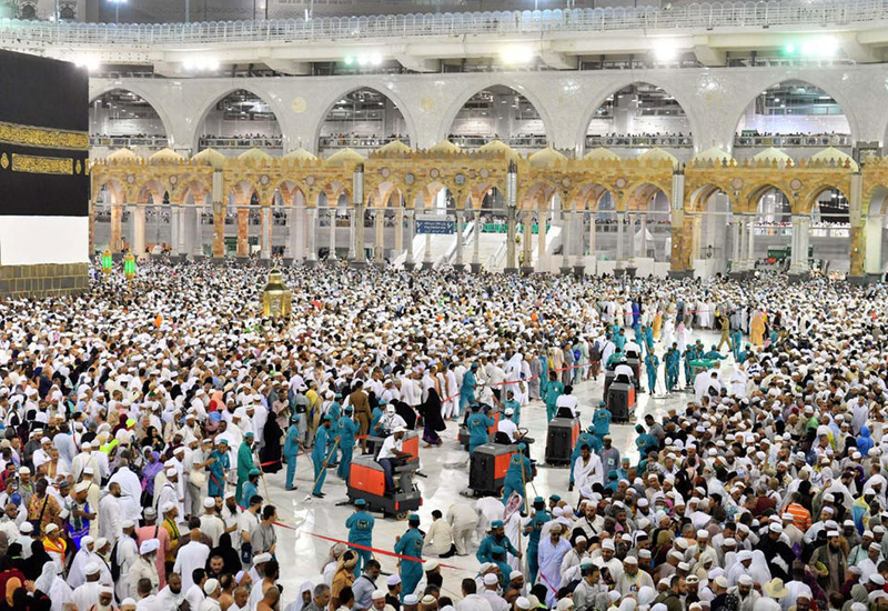 Hajj is usually a massive religious tourism driver in the country