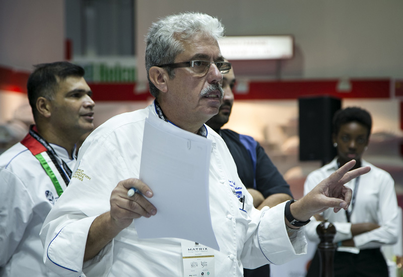 Uwe Micheel is president of The Emirates Culinary Guild