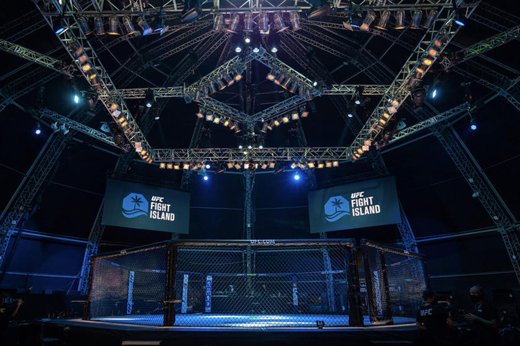 UFC Fight Island, UFC Arabia, UFC 253