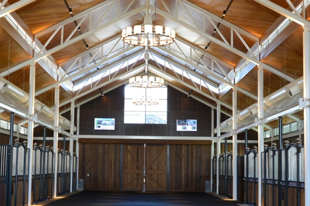 Inglis Riverside Stables aims to deliver a world-class experience for the buying and selling of thoroughbred horses, as well as attract new racing audiences through the adjacent luxury hotel