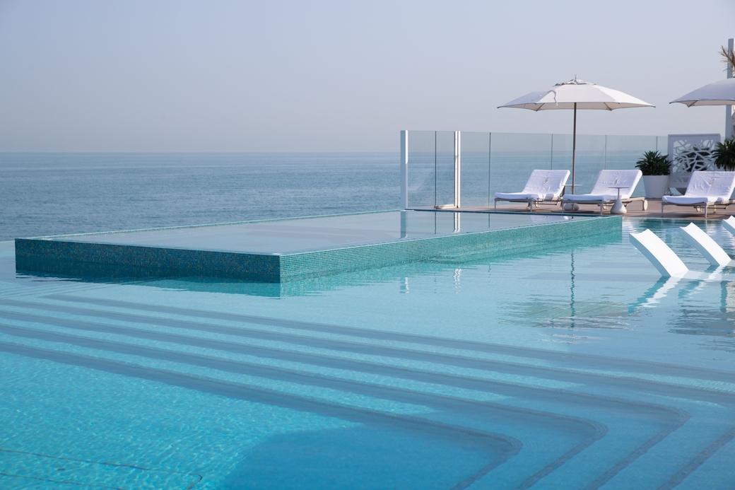 The Terrace infinity pool
